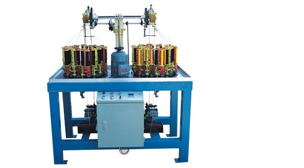 High Speed Cotton-Nylon Braiding Machine Double Head