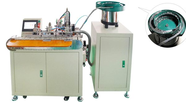 Automatic USB Connector Soldering Machine
